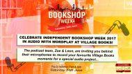 Independent Bookshop celebration Saturday 24th June in Village Books