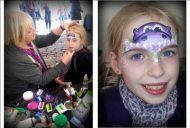 Free face painting Saturday afternoon 24th June